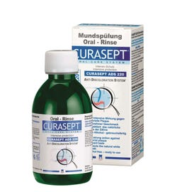 Curasept Anti Discoloration System 220 (0.20%) Oral Rinse 200ml