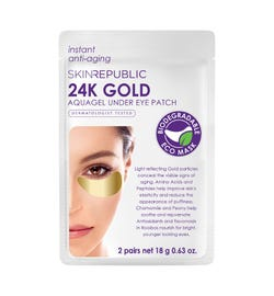 Skin Republic 24K Gold Aquagel Under Eye Patch (2 Pairs)