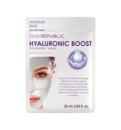 Skin Republic Hyaluronic Boost Youthfoil Foil Face Mask Sheet