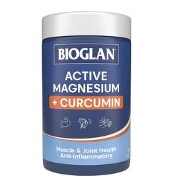 Bioglan Active Magnesium + Curcumin Tab X 120