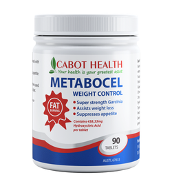Cabot Health Metabocel Weight Control With Brindleberry Tab X 90