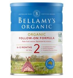 Bellamy's Organic Step 2 Follow On Formula 900g