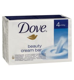 Dove Beauty Bar 100g X 4