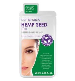 Skin Republic Hemp Seed Oil Face Mask Sheet