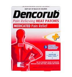Dencorub Heat Patch X 3
