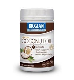 Bioglan Organic Coconut Oil Cap X 100