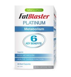 Naturopathica FatBlaster Platinum Metabolism Cap X 30