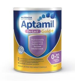 Aptamil Gold Plus De-Lact Infant Formula (0-12 Months) 900g (Limit 2 per order)
