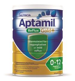 Aptamil Gold Plus Reflux Infant Formula (0-12 Months) 900g