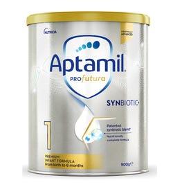 Aptamil Profutura SynBiotic+ 1 Infant Formula (0 - 6 Months) 900g