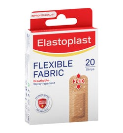 Elastoplast Flexible Fabric Strips (22mm X 72mm) X 20