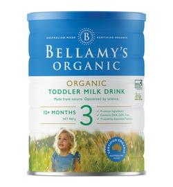 Bellamy's Organic Step 3 Toddler Milk Drink 900g