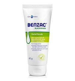 Benzac Blackheads Facial Scrub 60g