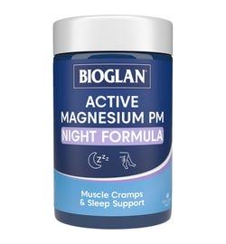 Bioglan Active Magnesium PM Night Formula Tab X 60
