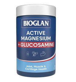 Bioglan Active Magnesium + Glucosamine Tab X 180
