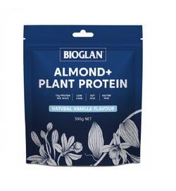 Bioglan Almond + Plant Protein Vanilla 300g