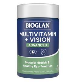 Bioglan Multi + Vision Advanced Tab X 50