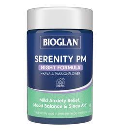 Bioglan Serenity PM Night Formula Cap X 40