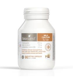 Bio Island Milk Calcium for Kids Cap X 90