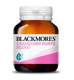 Blackmores Cranberry Forte 50,000 Cap X 30