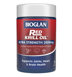 Bioglan Red Krill Oil 2000mg Caps x 30