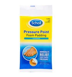 Scholl Pressure Point Foam Padding X 1 Sheet
