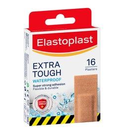 Elastoplast Extra Tough Waterproof Plasters X 16