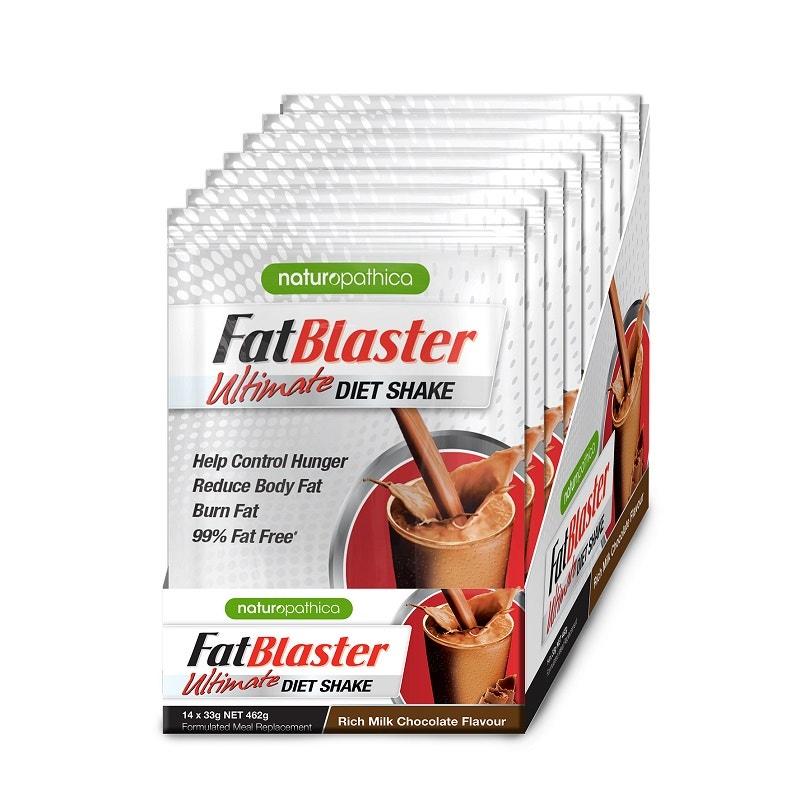 Fatblaster Ultimate Diet Shake Chocolate Sachet 33g X 14