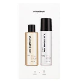 Forty Fathoms Skin Regenerator Lotion & Toner Gift Pack
