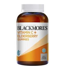 Blackmores Vitamin C + Elderberry Gummies X 120