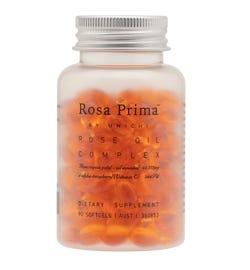 Unichi Rosa Prima Rose Oil Complex Softgel Cap X 90