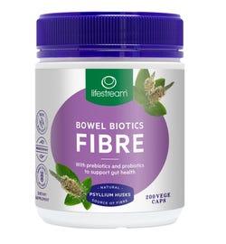 Lifestream Bowel Biotics Fibre Cap X 200