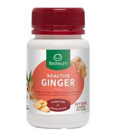 Lifestream Ginger Cap X 30