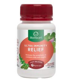 Lifestream Ultra Immunity Relief Cap X 30