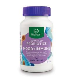 Lifestream Advanced Probiotics Mood + Immune Cap X 30