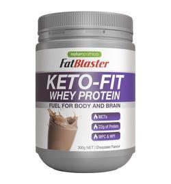 FatBlaster Keto-Fit Whey Protein Chocolate 300g