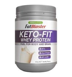 FatBlaster Keto-Fit Whey Protein Vanilla 300g