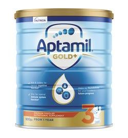 Aptamil Gold Plus 3 Toddler Formula (From 1 Year) 900g