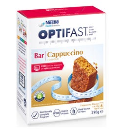Optifast Bar Cappuccino Flavour 65g X 6