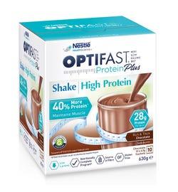 Optifast VLCD Protein Plus High Protein Shake (Chocolate) 63g X 10