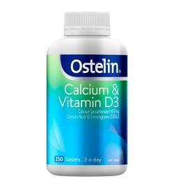 Ostelin Calcium & Vitamin D3 Tab X 250