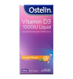 Ostelin Vitamin D3 (1000IU) Oral Liquid 50ml