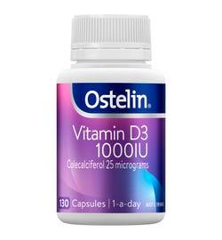Ostelin Vitamin D3 (1000IU) Cap X 130