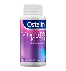 Ostelin Vitamin D3 (1000IU) Cap X 250