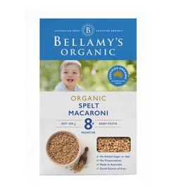 Bellamy's Organic Spelt Macaroni 200g