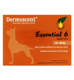 Blackmores PAW Dermoscent Essential 6 Spot-on For Dogs (20-40kg) X 4