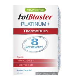 Naturopathica FatBlaster Platinum+ ThermoBurn Cap X 40