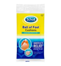 Scholl Ball Of Foot Cushions X 1 Pair