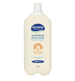 Redwin Sorbolene Hand Wash with Vitamin E 750ml Refill