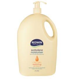 Redwin Sorbolene Moisturiser with Vitamin E 2L